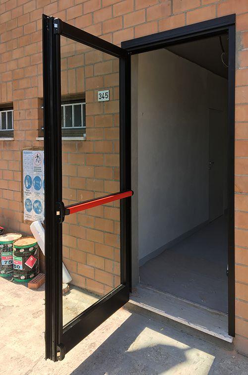 Porte di sicurezza in vetro